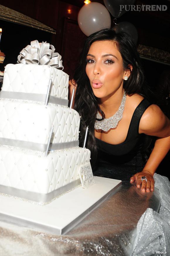 Kim kardashian anniversaire de mariage