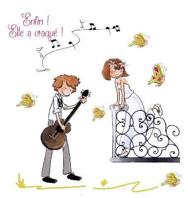 Carte anniversaire de mariage rigolote