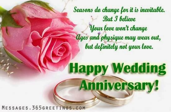 Citation d'amour anniversaire de mariage