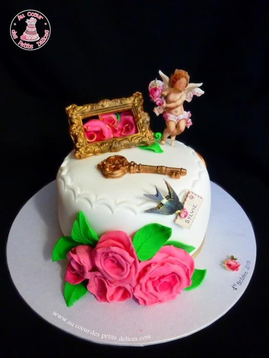 Gateau anniversaire de mariage 13 ans