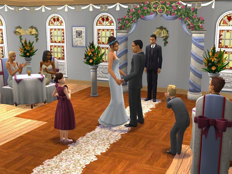 Anniversaire de mariage sims 2