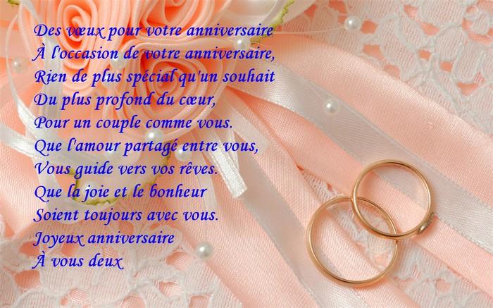 Souhaiter anniversaire de mariage à son mari