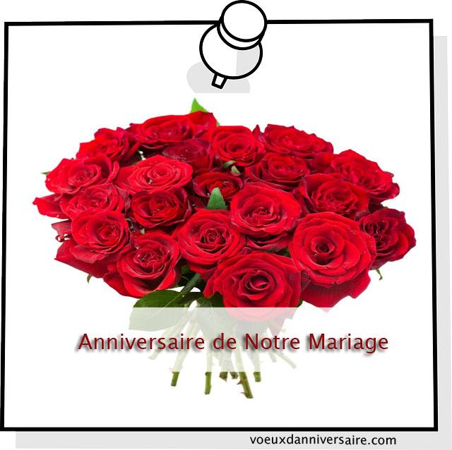 Sms pour souhaiter bon anniversaire de mariage