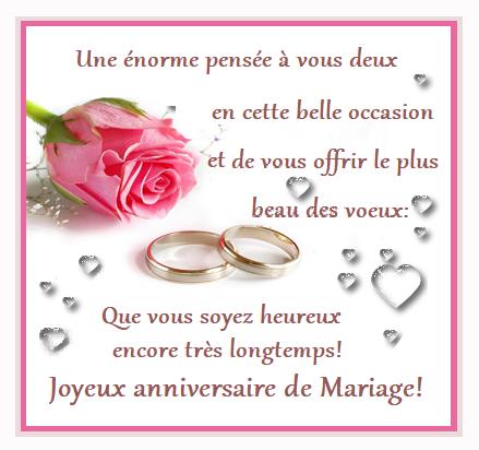 Image pour un anniversaire de mariage
