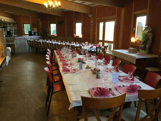 Anniversaire de mariage au restaurant