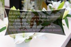 Jolie carte anniversaire de mariage 46 ans