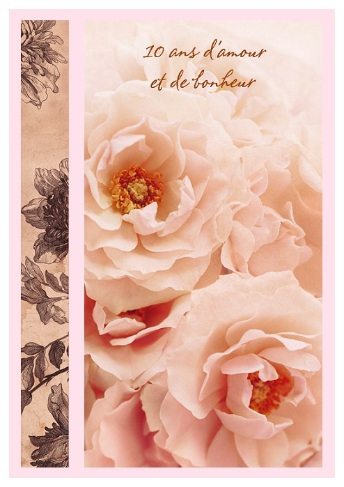 Cartes A Imprimer Gratuites Anniversaire De Mariage Elevagequalitetouraine