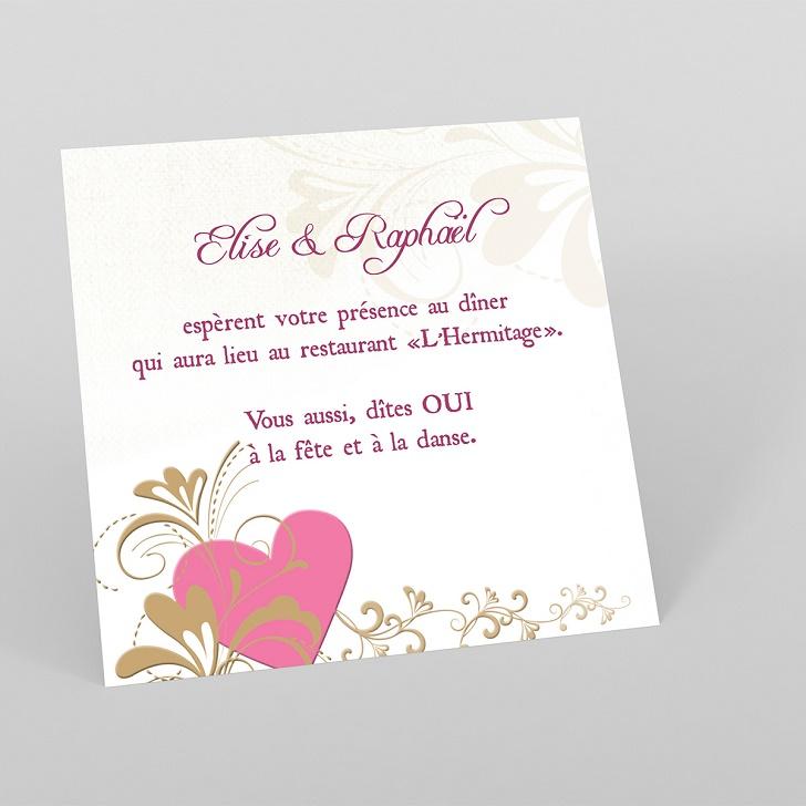 Invitation pour anniversaire de mariage gratuit