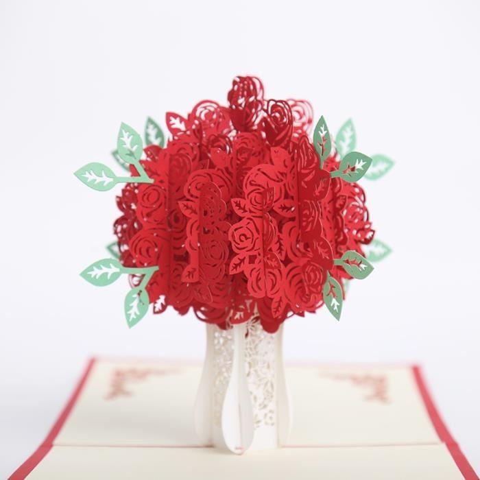 Cadeau anniversaire de mariage rose