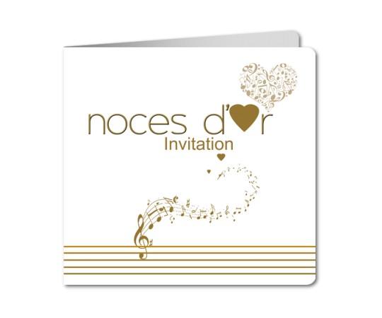 Carte d invitation d anniversaire de mariage