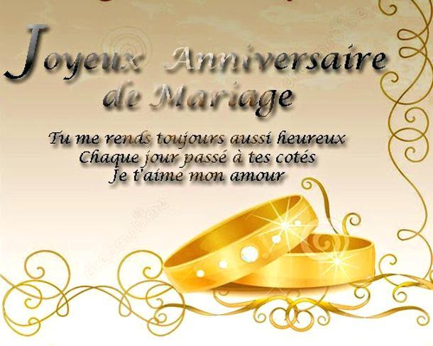 Joyeux Anniversaire De Mariage A Imprimer Elevagequalitetouraine