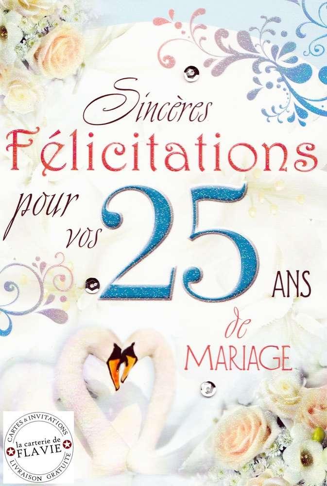 Dessin anniversaire 25 ans de mariage