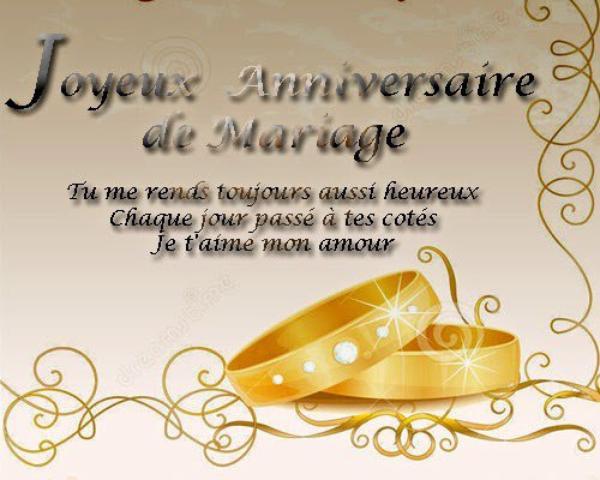 Joyeux anniversaire 30 ans de mariage