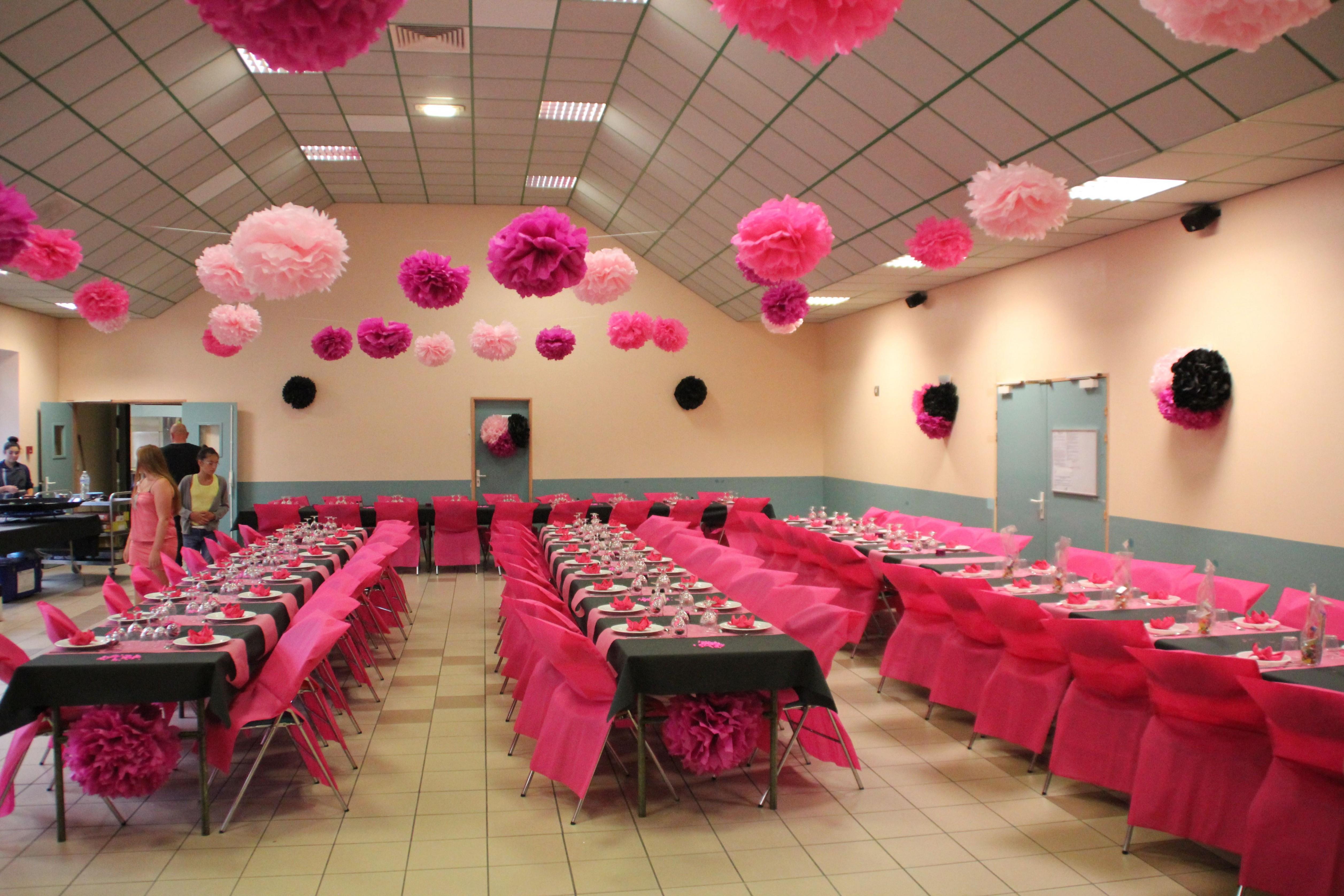 Decoration salle pour anniversaire de mariage
