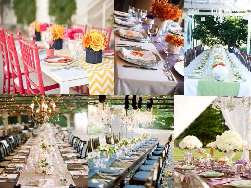 Idee deco table anniversaire de mariage