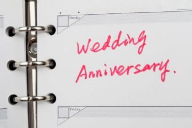 Pour fêter un anniversaire de mariage