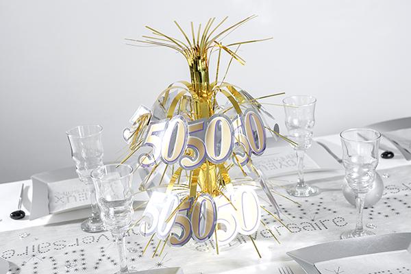 Idée pour anniversaire de mariage 50 ans