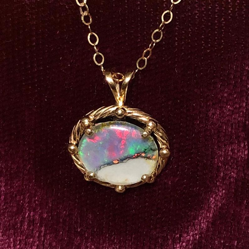 Anniversaire de mariage opale