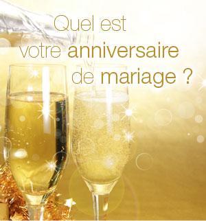 Cadeau pour 20ème anniversaire de mariage