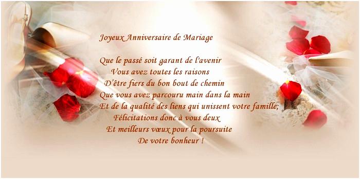 Anniversaire de mariage texte gratuit