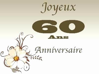 Idées anniversaire 60 ans de mariage
