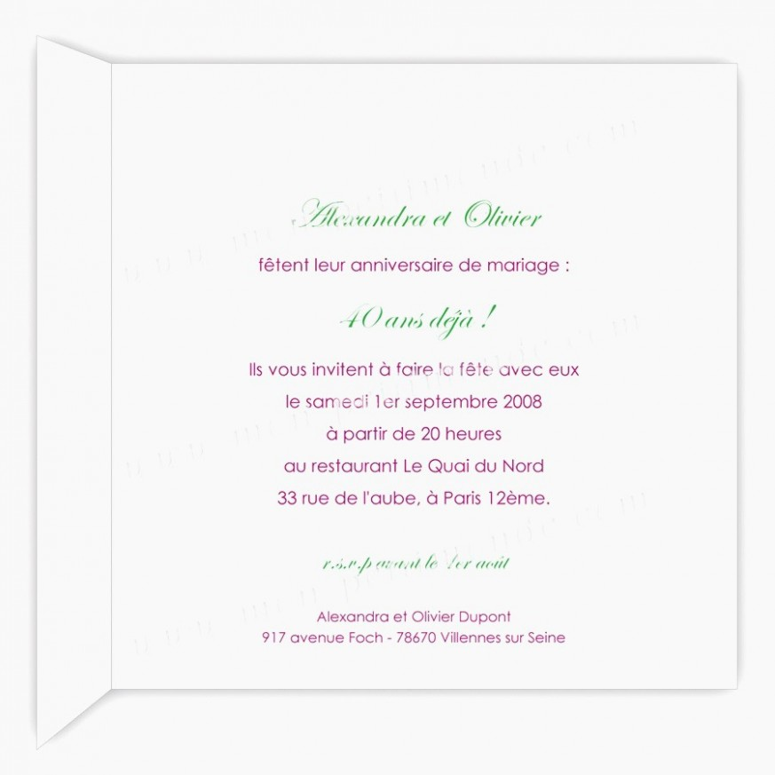 Idées cadeaux pour anniversaire de mariage