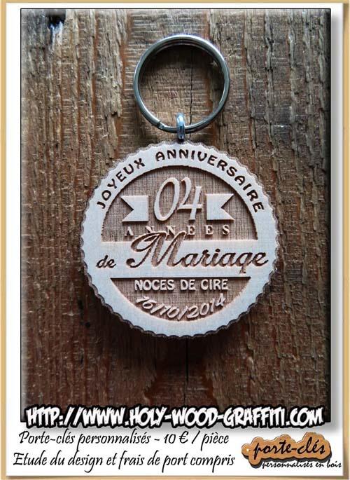 Cadeau 3 anniversaire de mariage