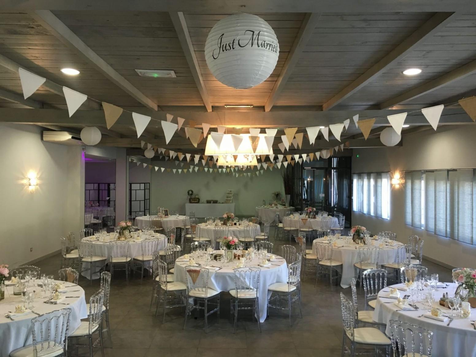 Salle pour anniversaire de mariage