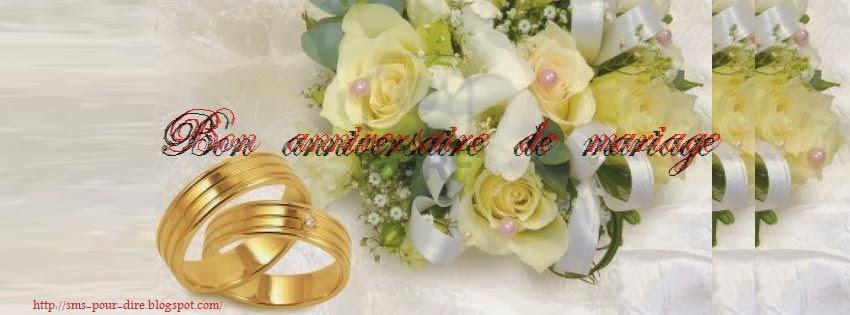 Message sms anniversaire de mariage