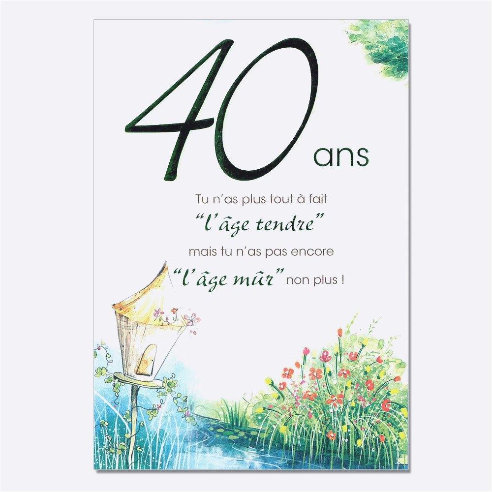 Texte carte invitation anniversaire de mariage 40 ans
