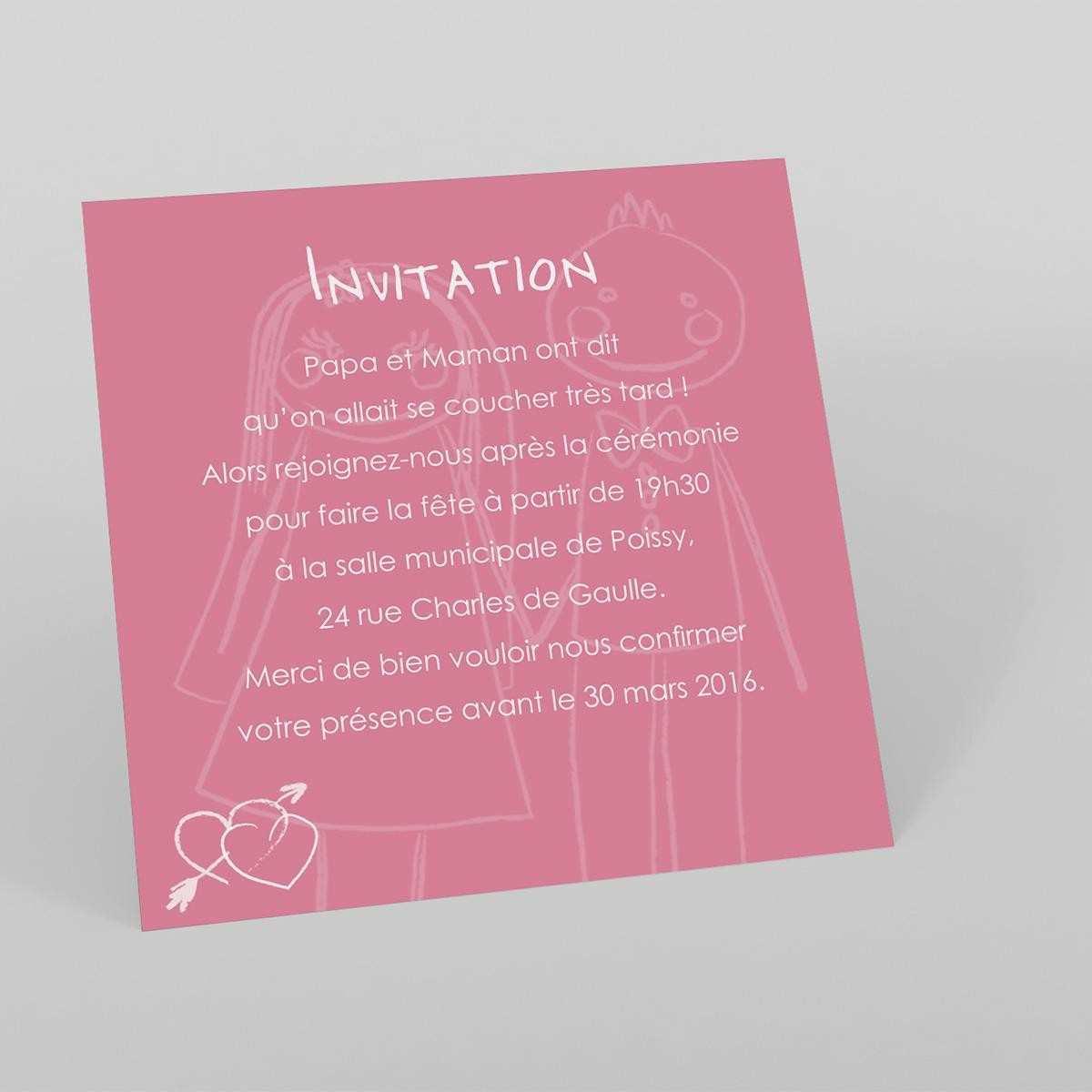 Texte Invitation Anniversaire 1 An De Mariage