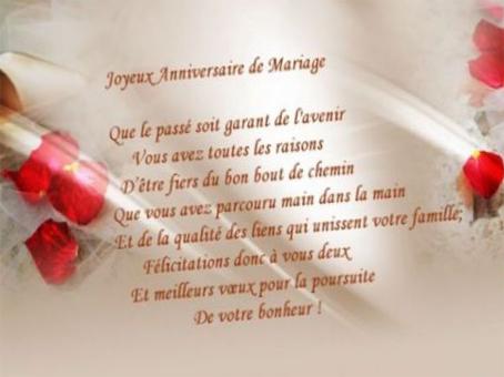 Discours de remerciement anniversaire de mariage